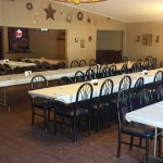 104 Grill seating area