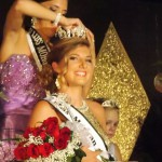 girl being crowned Miss Morgan County