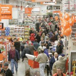 people at Home Depot