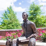 Lincoln on Illinois College Campus