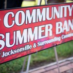 Community Summer Band Sign