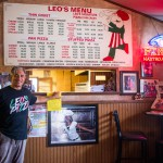 Leo's Pizza Menu