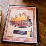 Brickhouse Barbeque menu