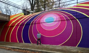 Chicago North Shore. Public Art. Evanston Mural