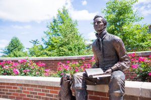 Lincoln Statue at Illinois College
